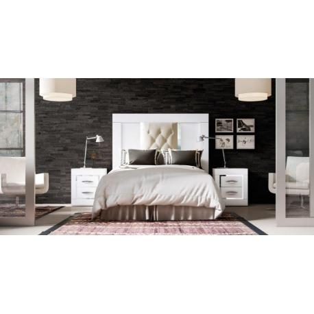 Dormitorios rusticos CAB. 150 + Mesitas de 55 cm