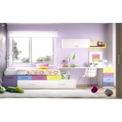 Dormitorio juvenil Compactos 99 H 102