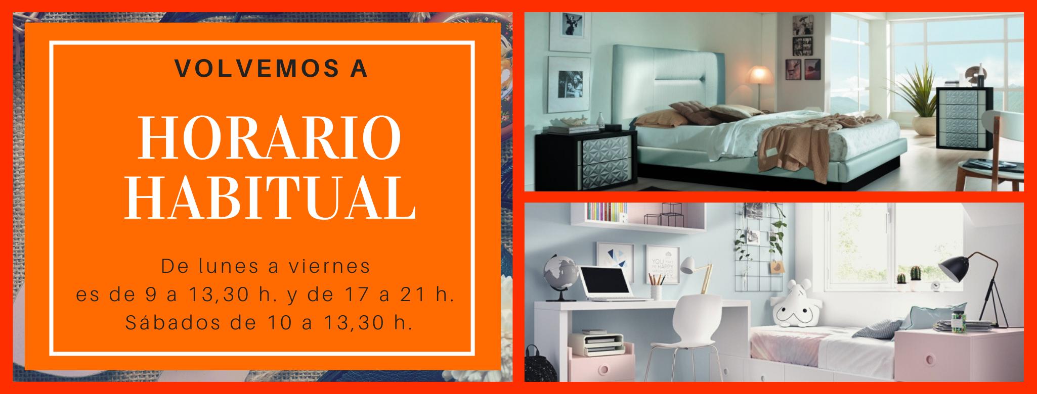 Nuevo Horario en Muebles La Negrilla Marzo 2021